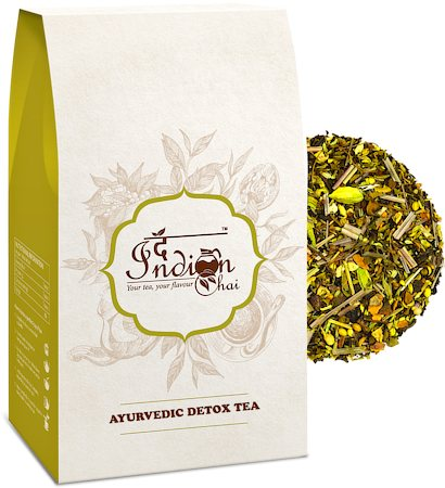 The Indian Chai - Ayurvedic Detox Green Tea, 100 gm