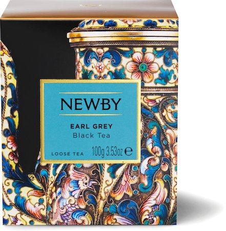 Newby Heritage Earl Grey Loose Leaf Tea, 100 gm Carton