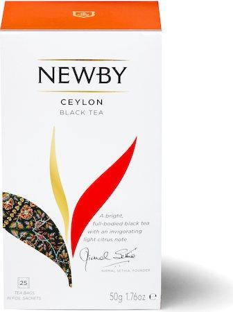 Newby Ceylon Black Tea (25 tea bags)