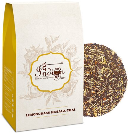 The Indian Chai - Lemongrass Masala Chai, 100 gm