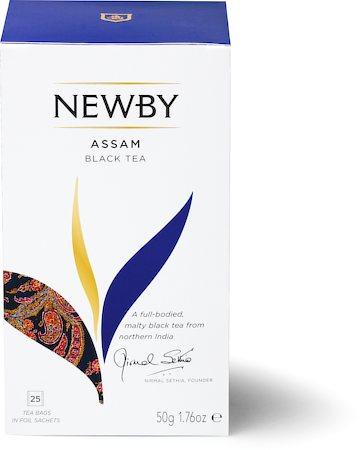 Newby Assam Black Tea (25 tea bags)