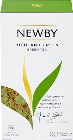 Newby New Highland Green Tea (25 tea bags)