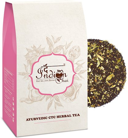 The Indian Chai - Ayurvedic Premium Assam CTC Herbal Black Tea, 100 gm