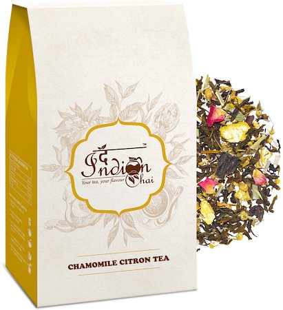 The Indian Chai - Chamomile Citron Green Tea (Premium Darjeeling), 100 gm