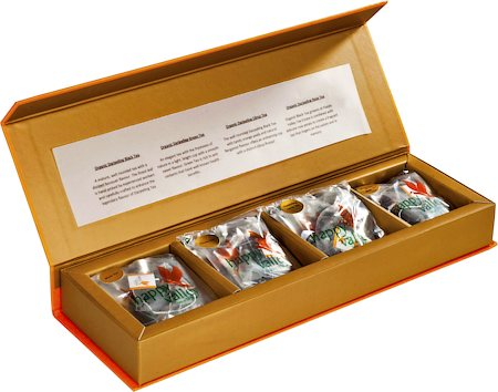 Happy Valley Organic Darjeeling Tea - Assorted Gift Pack (20 Pyramid tea bags)