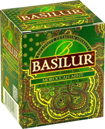 Basilur Oriental Collection Moroccan Mint Tea (10 tea bags)