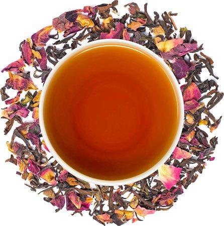 Danta Herbs Rose Cinnamon Black Tea, Loose Leaf 100 gm