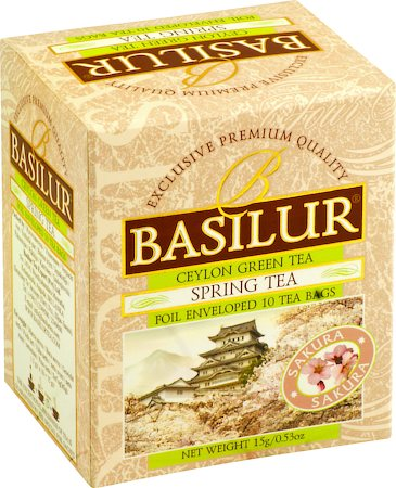Basilur Four Seasons Spring Tea (10 tea bags)