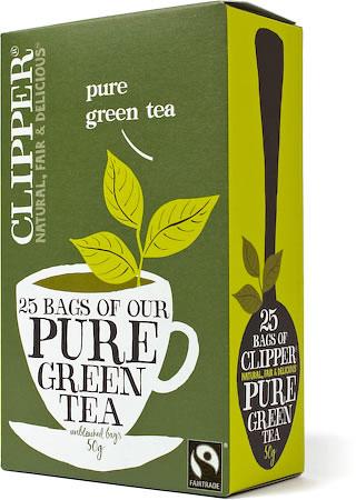 Clipper Pure Green Tea (25 tea bags)