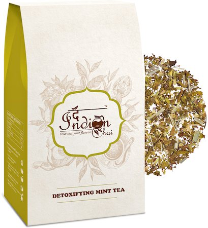 The Indian Chai - Detoxifying Mint Herbal Tea, 100 gm