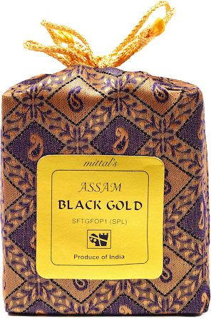 Mittal's Assam Special Black Gold Tea, Full Leaf 100 gm