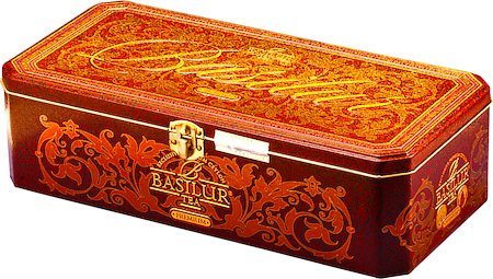 Basilur Premium Tea - Large, Loose Leaf 100 gm Caddy