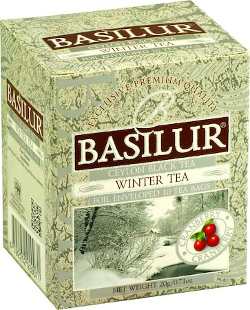 Basilur Four Seasons Winter Tea (10 tea bags)