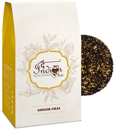The Indian Chai - Ginger Adrak Assam CTC Chai, 100 gm