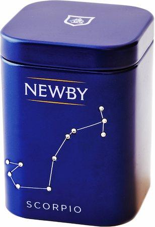 Newby Zodiac - SCORPIO Jasmine, Loose Leaf 25 gm Mini Caddy
