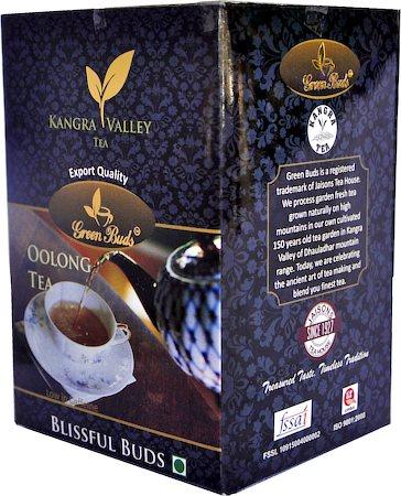 GreenBuds Kangra Oolong Tea, Loose Leaf 125 gm