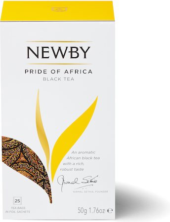 Newby Pride of Africa Black Tea (25 tea bags)