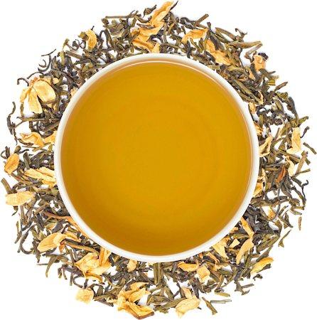 Danta Herbs Jasmine Flower Green Tea, Loose Leaf 100 gm