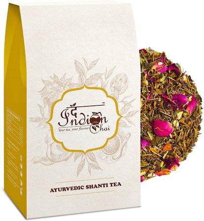 The Indian Chai - Ayurvedic Shanti Herbal Tea, 100 gm