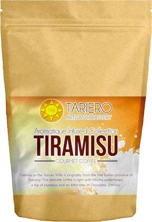 Tariero Tiramisu Flavoured Gourmet Coffee, Fine Grind 100 gm