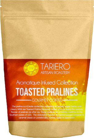 Tariero Toasted Pralines Flavoured Gourmet Coffee, Fine Grind 100 gm