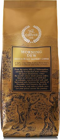 Morning Dew Premium Coffee, Whole Beans 250 gm