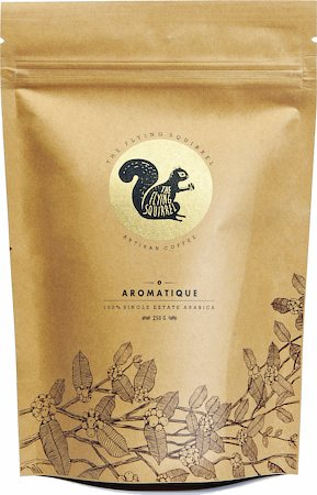 Flying Squirrel Aromatique Single Estate Arabica Artisan Coffee, Medium Grind 250 gm