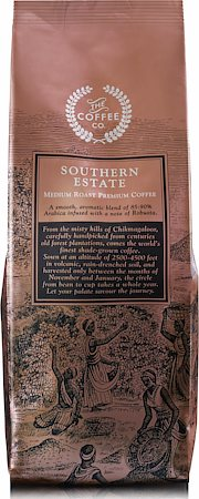 Southern Estate Medium Roast Premium Coffee, French Press Grind 250 gm