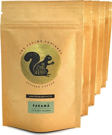 Flying Squirrel Taster's 6-Pack Coffee, Medium Grind 300 gm