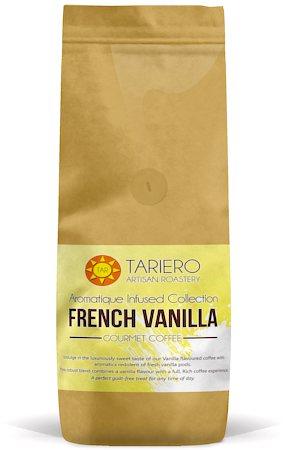 Tariero French Vanilla Flavoured Gourmet Coffee, Fine Grind 250 gm