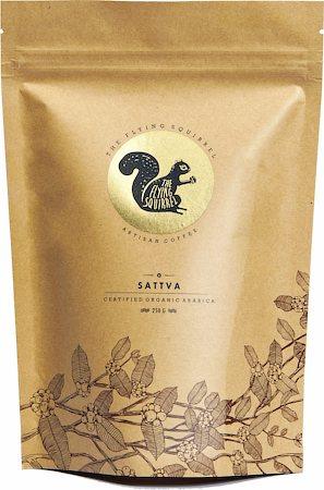 Flying Squirrel Sattva Organic Arabica Coffee, Whole Beans 250 gm