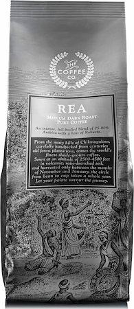 Rea Pure Coffee, Whole Beans 250 gm