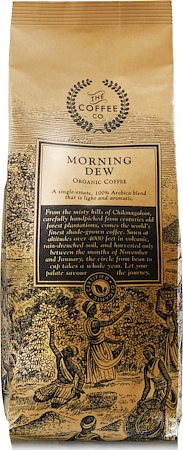 Morning Dew Organic Coffee, Whole Beans 250 gm