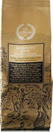 Morning Dew Monsooned Malabar Gourmet Coffee, French Press Grind 250 gm