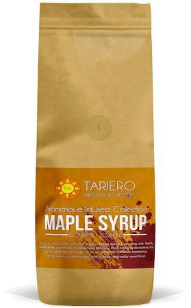Tariero Maple Syrup Flavoured Gourmet Coffee, Fine Grind 250 gm