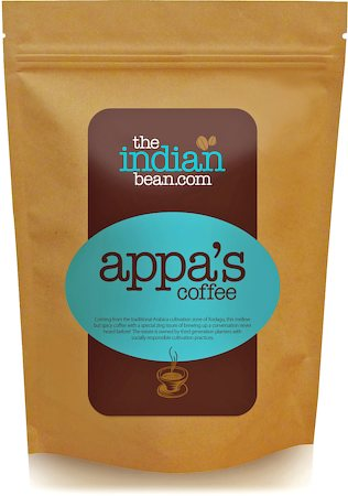 The Indian Bean Appa's Coffee, Fine Grind 250 gm