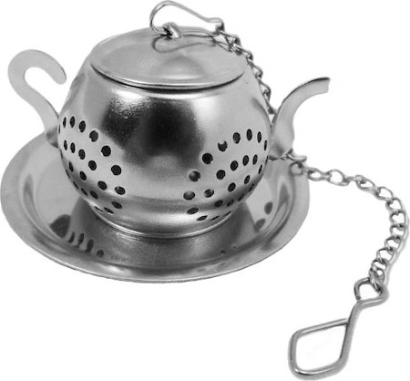 Budwhite Stainless Steel Kettle Shaped Tea Infuser (Small)