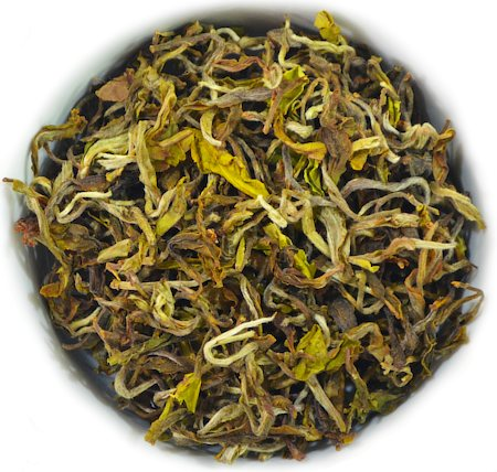The Tea Shelf Silver Tips Moonlight Darjeeling Tea, Loose Leaf 100 gm