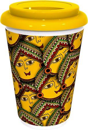 Kolorobia Versatile Madhubani Cafe Mug