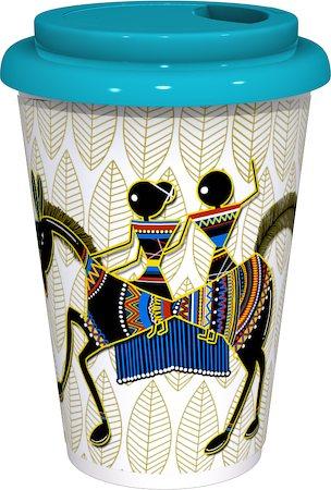 Kolorobia Ethnic Warli Cafe Mug