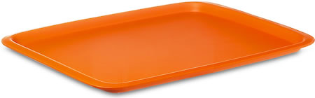 Rosti Mepal Serving Tray, Rectangular (Eos Orange)