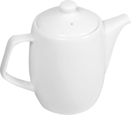Wilmax ENGLAND Fine Porcelain Tea Pot, 650 ml (White)