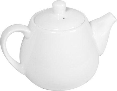 Wilmax ENGLAND Fine Porcelain Tea Pot, 700 ml (White)