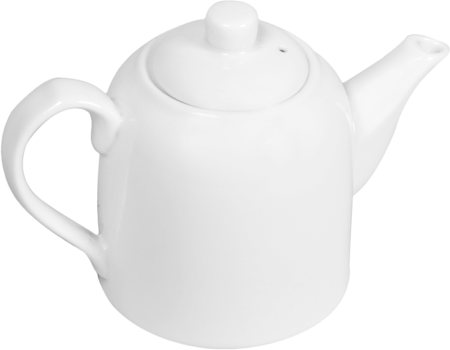 Wilmax ENGLAND Fine Porcelain Tea Pot, 375 ml (White)