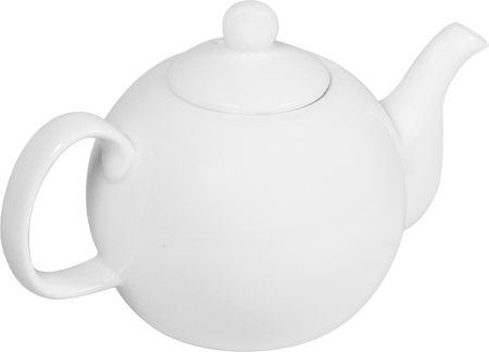 Wilmax ENGLAND Fine Porcelain Tea Pot, 800 ml (White)