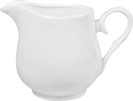 Wilmax ENGLAND Fine Porcelain Creamer, 300 ml (White)