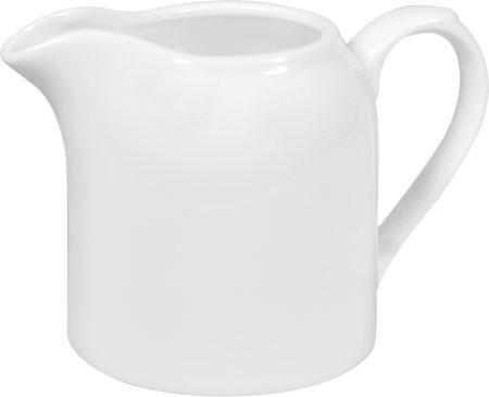 Wilmax ENGLAND Fine Porcelain Creamer, 250 ml (White)