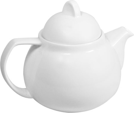 Wilmax ENGLAND Fine Porcelain Tea Pot, 750 ml (White)