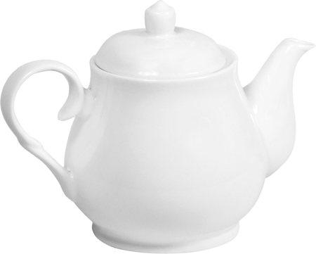 Wilmax ENGLAND Fine Porcelain Tea Pot, 550 ml (White)