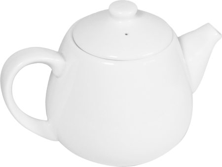Wilmax ENGLAND Fine Porcelain Tea Pot, 1000 ml (White)